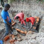 The Water Project: Bukhaywa Community, Ashikhanga Spring -  Brick Work