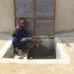 The Water Project: Makale Primary School -  Kenya Thumbs Up For Clean Water