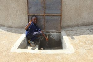 The Water Project:  Kenya Thumbs Up For Clean Water