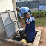 The Water Project: St. Peter's Khaunga Secondary School -  Collecting Water For Sanitation And Washing Plates