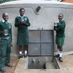 The Water Project: Friends Kuvasali Secondary School -  Raised Glasses Of Water