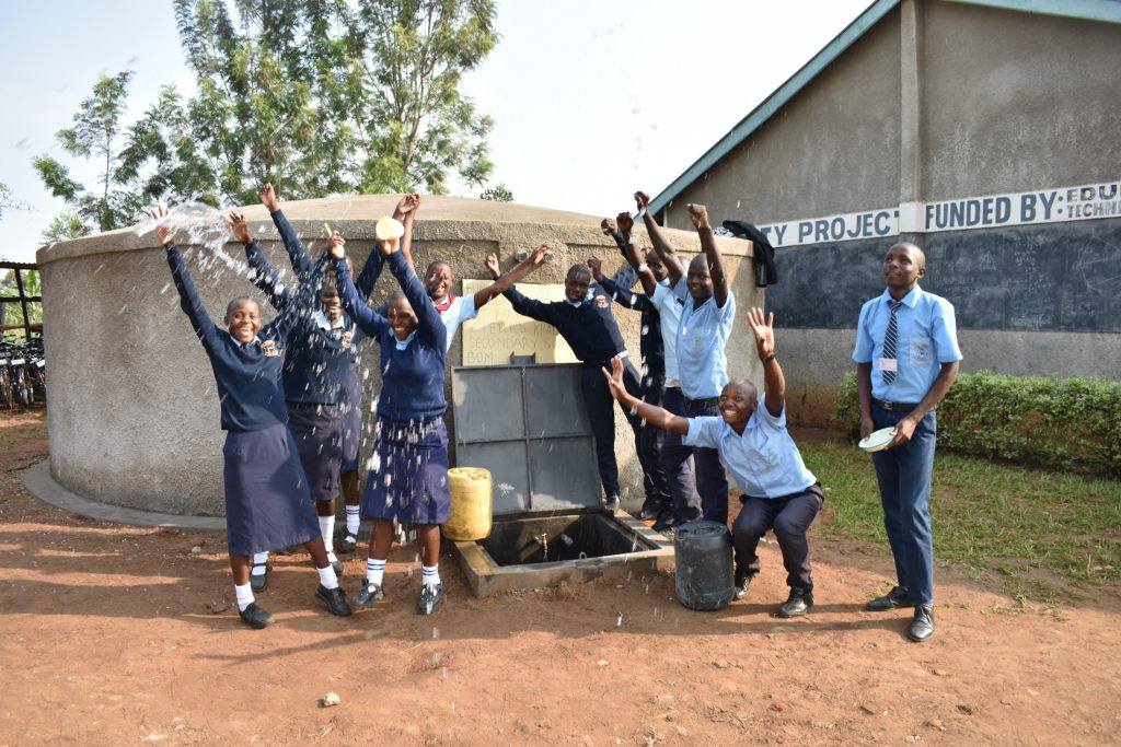 The Water Project : 41-kenya20003-a-moment-of-happiness-with-a-splash