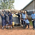 The Water Project: St. Peter's Khaunga Secondary School -  A Moment Of Happiness With A Splash