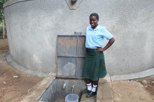 The Water Project:  Rasoa A Student At The School