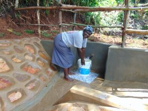 The Water Project:  Christine Gavalwa Fetches Water