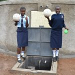 The Water Project: St. Peter's Khaunga Secondary School -  After Physical Education We Can Now Quench Our Thirst