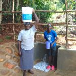 The Water Project: Chepnonochi Community, Shikati Spring -  Happy Spring Users