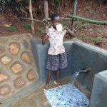 The Water Project: Chepnonochi Community, Shikati Spring -  Yum Clean Water