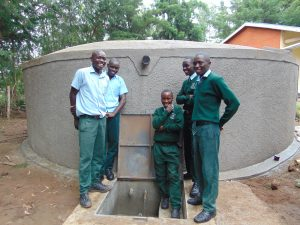 The Water Project:  Boys Pose At The Water Tank