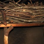 The Water Project: Mukhonje Community, Mausi Spring -  Firewood Storage