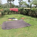 The Water Project: Mukhuyu Community, Chisombe Spring -  Clothes Aired On The Ground