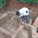 The Water Project: Chepnonochi Community, Shikati Spring -  Brick Work