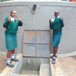 The Water Project: Friends Kuvasali Secondary School -  Celebrations At The Water Point