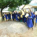 The Water Project: Makale Primary School -  Students Deliver Water To Work Site