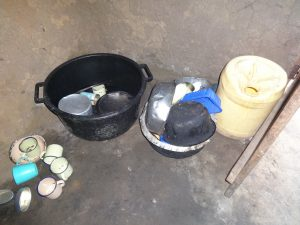 The Water Project:  Utensils Left To Dry