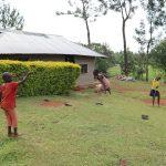 The Water Project: Harambee Community, Elijah Kwalanda Spring -  Playing Jump Rope