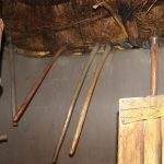 The Water Project: Mukhonje Community, Mausi Spring -  Farm Tools Stored In The Kitchen