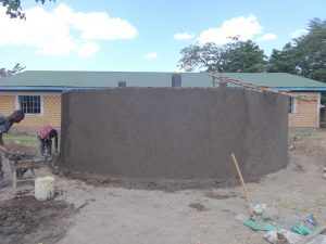 The Water Project:  Cementing Outer Walls