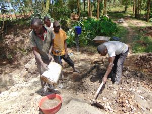 The Water Project:  Mixing Cement And Concrete