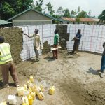 The Water Project: Makale Primary School -  Cementing Tank Interior