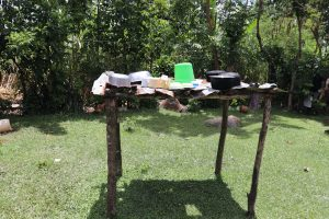 The Water Project:  Outside Dishrack