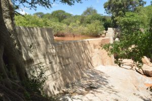 The Water Project:  Complete Sand Dam