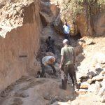 The Water Project: Katovya Community -  Trenching