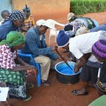 The Water Project: Kasekini Community -  Mixing Soap