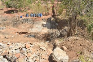 The Water Project:  Dam Site Work Begins