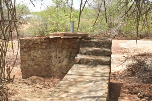The Water Project:  Stairs To Well Dry