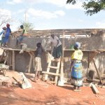 The Water Project: Murwana Primary School -  Cementing The Walls