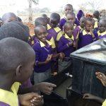 The Water Project: Murwana Primary School -  Handwashing Exercise