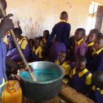 The Water Project: Murwana Primary School -  Mixing Soap