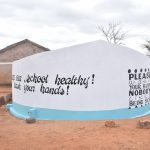 The Water Project: Murwana Primary School -  Painted Tank