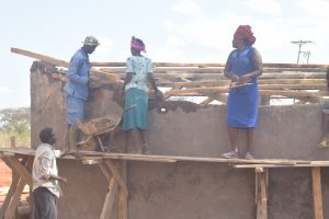 The Water Project:  Roof Work