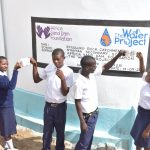 The Water Project: Nyanyaa Secondary School -  Cheers