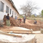 The Water Project: Nyanyaa Secondary School -  Collecting Rocks