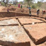 The Water Project: Nyanyaa Secondary School -  Foundation Underway