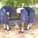 The Water Project: Nyanyaa Secondary School -  Handwashing At New Station