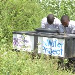 The Water Project: Nyanyaa Secondary School -  Handwashing Station