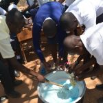 The Water Project: Nyanyaa Secondary School -  Mixing Soap