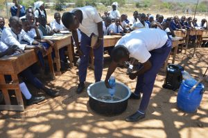 The Water Project:  Soapmaking Demonstration