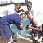 The Water Project: Nyanyaa Secondary School -  Thumbs Up