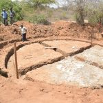 The Water Project: Nyanyaa Secondary School -  Working On The Foundation