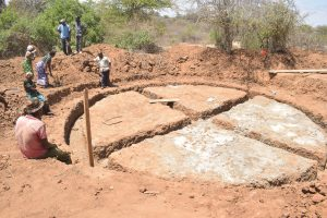 The Water Project:  Working On The Foundation