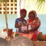 The Water Project: Lokomasama, Gbonkogbonko, Kankalay Primary School -  Handwashing Demonstration