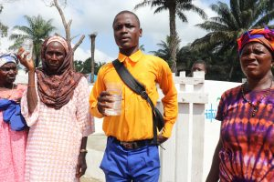 The Water Project:  Head Boy Makes A Speech