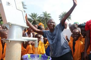 The Water Project:  Head Teacher Celebrates At The Well