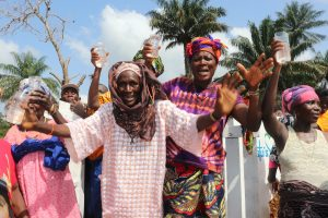 The Water Project:  Old Women Celebrate At The Well