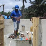 The Water Project: Lokomasama, Gbonkogbonko, Kankalay Primary School -  Pump Installation